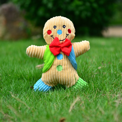 Christmas Gingerbread Toy Blue
